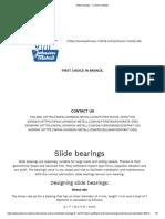Slide bearings _Johnson Metall