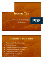 Income Tax- SPA 2010