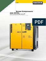 Kaeser compressors ASD 37 T - ME Dept owned