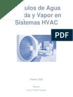 Cálculo Vapor Agua Helada HVAC