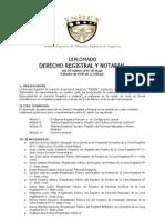 Diplomado en Derecho Registral  y Notarial - ESDEN