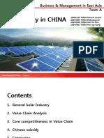Solar energy industry  - team A[-Manish edits