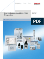 Rexroth IndraMotion MLC02VRS Diagnostics