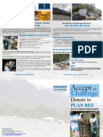 Brochure - Plan Bee Before and After the Floods in Pakistan