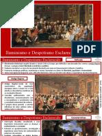 Iluminismo e Despotismo Esclarecido (Tom).ppsx