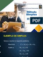 Método Simplex -II parte