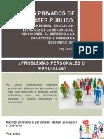 Asuntos privados de carácter público