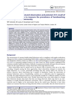 Comparison of structured observation and pictorial 24 h recall of household activities