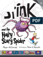 Stink and the Hairy Scary Spider Chapter Sampler