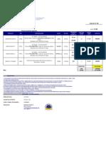 COTIZACION PINTURAS HEMPEL No 548-TAUROSERVIS
