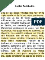 5c. Borges (1926) Las coplas acriolladas