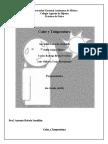 Práctica de Fisica Calor y Temperatura - Ana Lilia 4to B