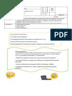 evaluacion diagnostica unidad  2 ciencias