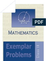 9th Maths exempler full