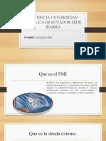 EXPOSICION DE DEUDA EXTERNA Y DE FUGA