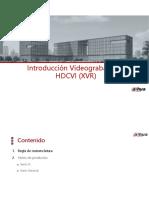 8. Grabadores HDCVI