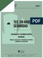 CHARLA-SEGURIDAD IV - MODULO X - CALCULO DE MATAFUEGOS.
