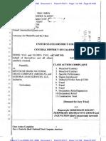 Yau v Deutsche Complaint (CA TRO Granted)