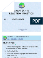 11.1 Reaction Rate 3