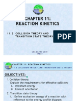 11.2 Collision Theory and Transition State Theory