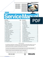 Service manual Philips 227E
