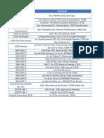 Lista de módulos vacuna influenza