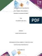 Paso 1-  Fundamentos de la epistemología y la epistemología de las matemáticas