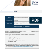 Guía Proyecto de Práctica II- Investigación Social_General