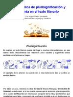 Plurisignificacion y Polisemia