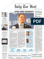 The Daily Tar Heel for February 3, 2011