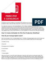 17862110 Fundamentals About post production software You Didn't Learn in School