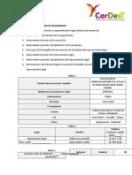 FICHA DE CARACTERIZACION DE LA ASOCIACION