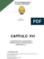 CAP. XVI CONTRATACIÓN, INDUCCIÓN Y ORIENTACIÓN, CAPACITACIÓN Y DESARROLLO..pptx