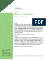 3 - Niilismo e Tecnologia - Jelson Roberto de Oliveira