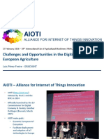 Challenges and Oppotunities in the Digitization of European Agriculture