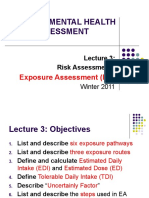 Environmental Health Risk Assessment3