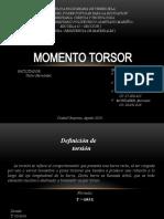 MOMENTO TORSOR