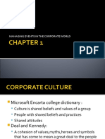 Managing Events in the Corporate World