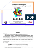 BEC-PELC 2010 - English