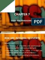 Event Risk Management
