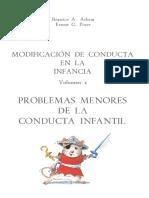 Modificación de conducta en la infancia Vol. 1 Problemas menores de la conducta infantil - Beatrice Ashen y Ernest Poser.pdf