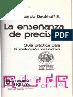 La enseñanza de precisión - Eduardo Backhoff.pdf