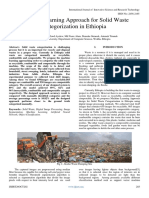 Machine Learning Approach for Solid Waste Categorization in Ethiopia