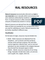 NATURAL RESOURCE1