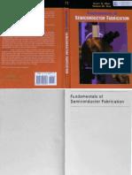 ECE 659 Fundamentals of Semiconductor Fabrication (May,Sze-2004)