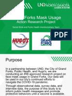 Oct. 19 Grand Forks UND Hugo's Mask Study Materials