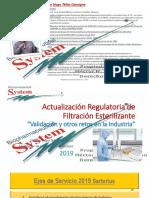 Actualizacion Regulatoria Filtración Esterilizante