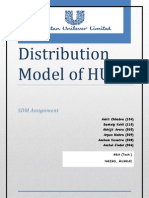 HUL Distribution Model