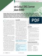 Membangun Lokal DNS Server Menggunakan BIND
