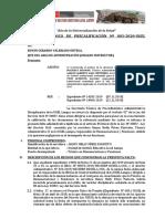 Informe Tecnico Instructor Alan Machaca, Wilfredo Alegre, Violeta y Carlos Lajo